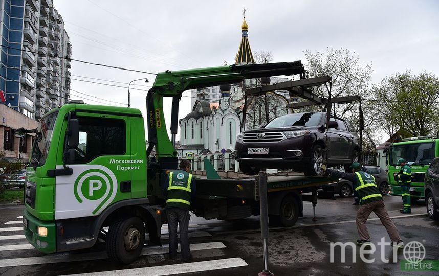 Парковка в центре Москвы будет бесплатной. Фото Василий Кузьмичёнок