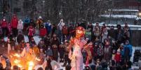 В Петербурге жгли масленицу: горожане делятся фото и видео