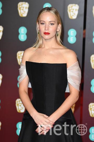 BAFTA-2018. Дженнифер Лоуренс. Фото Getty