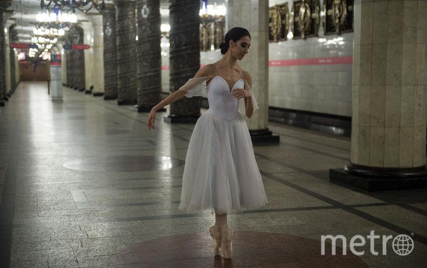 """Подземка каждый год устраивает акции к первому дню весны. Фото Святослав Акимов, """"Metro"""""""