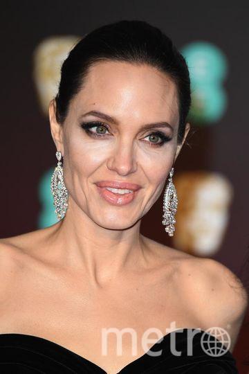 BAFTA-2018. Анджелина Джоли. Фото Getty