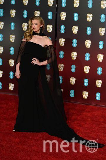 BAFTA-2018. Натали Дормер. Фото Getty