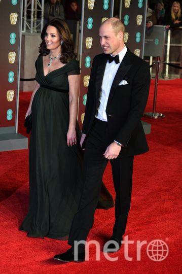 BAFTA-2018. Кейт Миддлтон. Фото Getty
