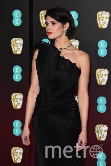 BAFTA-2018. Джемма Артертон. Фото Getty