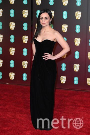 BAFTA-2018. Хейли Сквайрс. Фото Getty