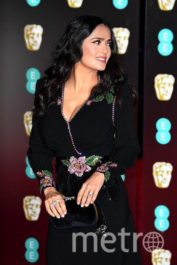 BAFTA-2018. Сальма Хайек. Фото Getty