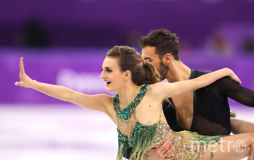 Конфуз на Олимпиаде - Габриэла Пападакис показала грудь. Фото Getty