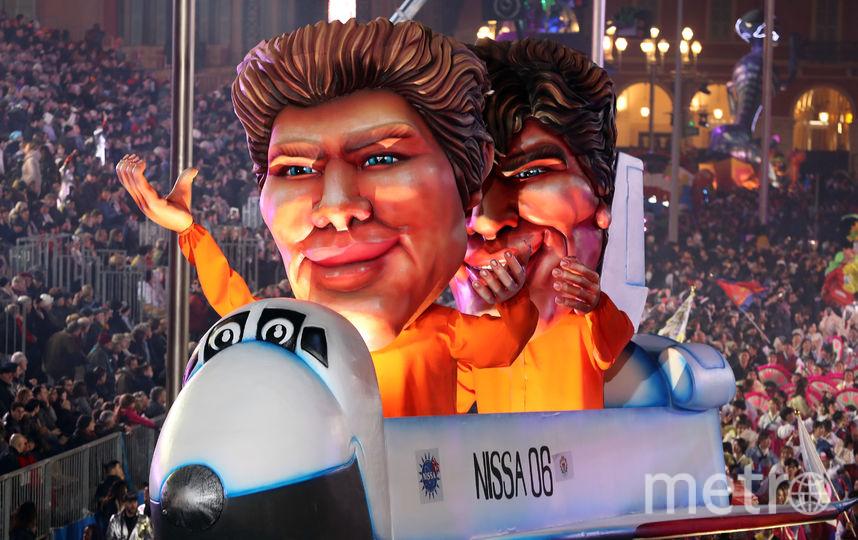 Карнавал в Ницце. Фото AFP