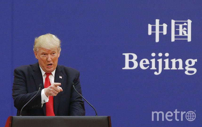 Дональд Трамп в Пекине. Фото Getty