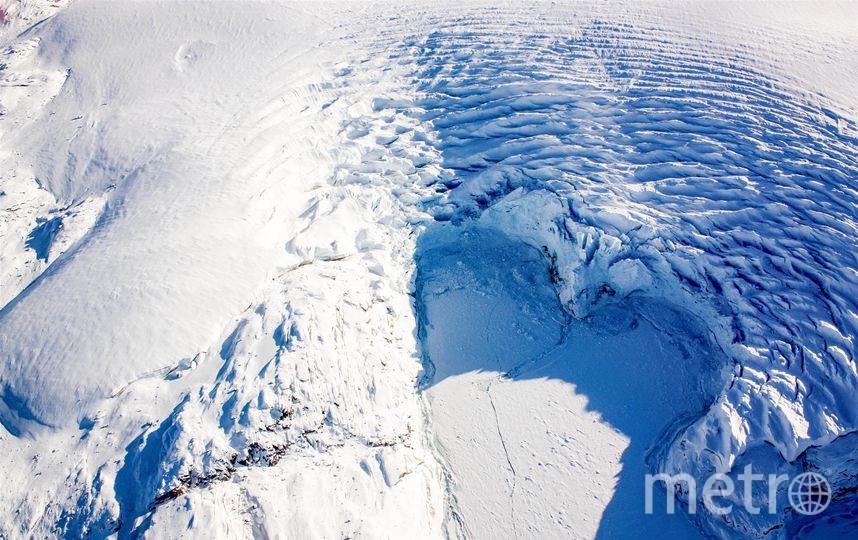 Самое холодное седе в мире. Фото NASA