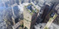 В Токио планируют построить деревянный небоскрёб