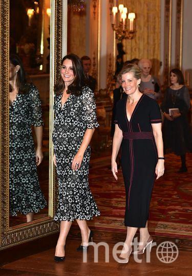 Кейт Миддлтон и графиня Софи на модном приеме в Букингемском дворце. Фото Getty