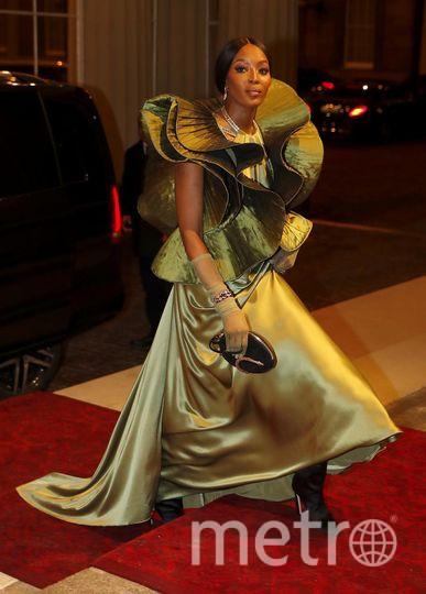 Наоми Кэмпбелл на модном приеме в Букингемском дворце. Фото Getty