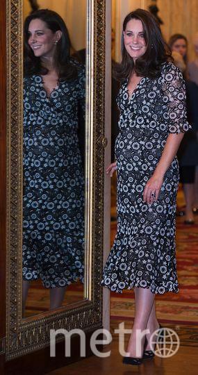 Кейт Миддлтон на модном приеме в Букингемском дворце. Фото Getty