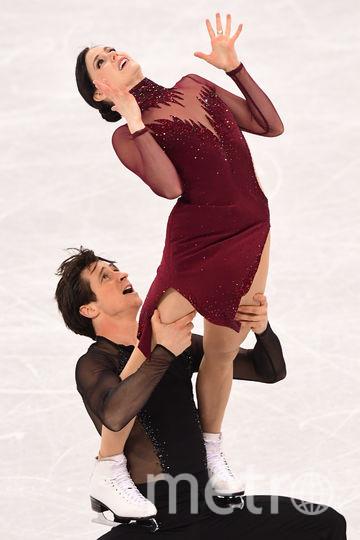 Тесса Вирчу и Скотт Мойр. Фото AFP