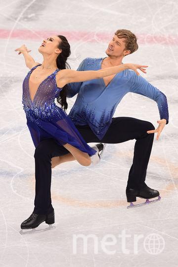 Танцы на льду на Олимпиаде в Пхенчхане. Фото AFP