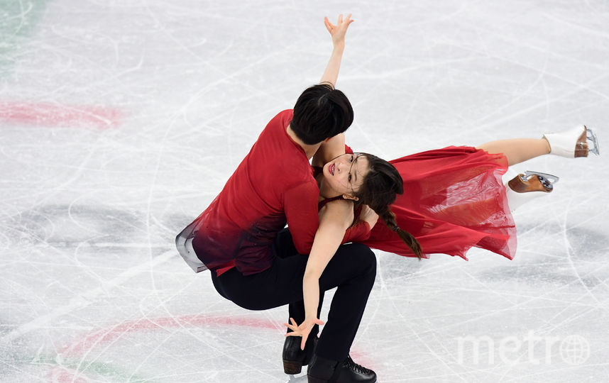 Майя Шибутани и Алекс Шибутани. Фото AFP