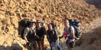 Экстремалы из Петербурга шесть дней провели в пустыне Негев