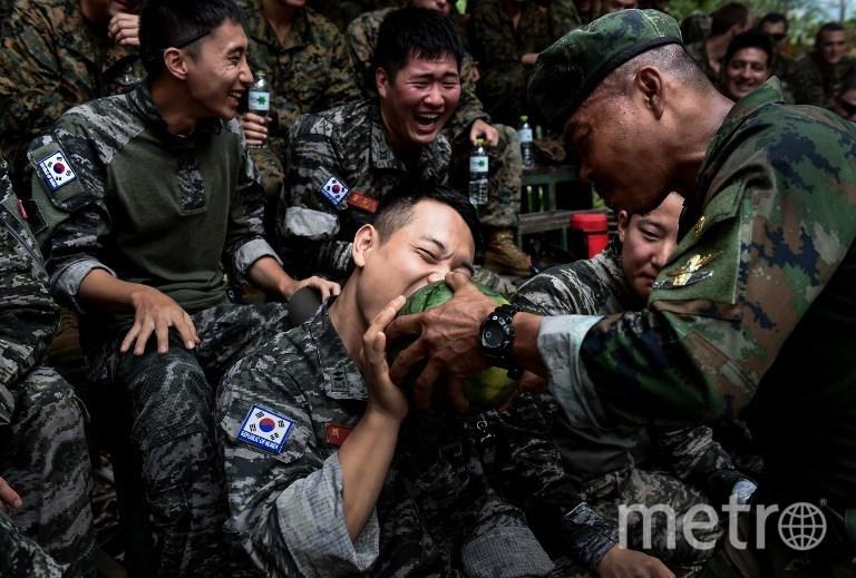 """Учения """"Золотая кобра"""" в Таиланде. Фото AFP"""