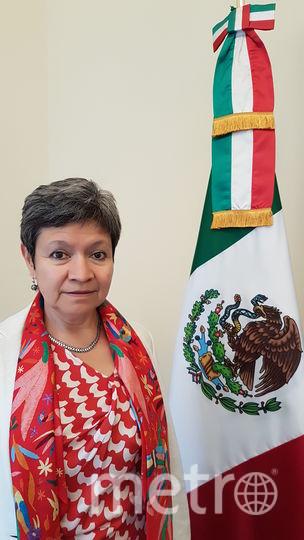 Норма Пенсадо. Фото Предоставлено посольством Мексики в РФ.