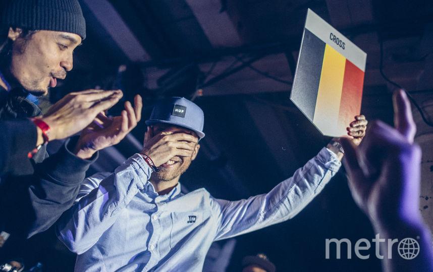 DJ Cross (Бельгия). Фото www.redbullcontentpool.com