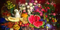 На выставке Андрияки покажут цветы и пейзажи старой Москвы