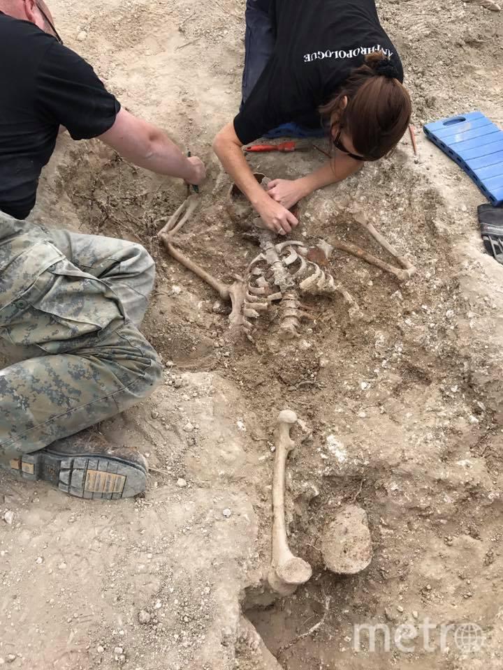 По оценкам антропологов, солдату было от 20 до 22 лет. Фото предоставлено Пьером Малиновским