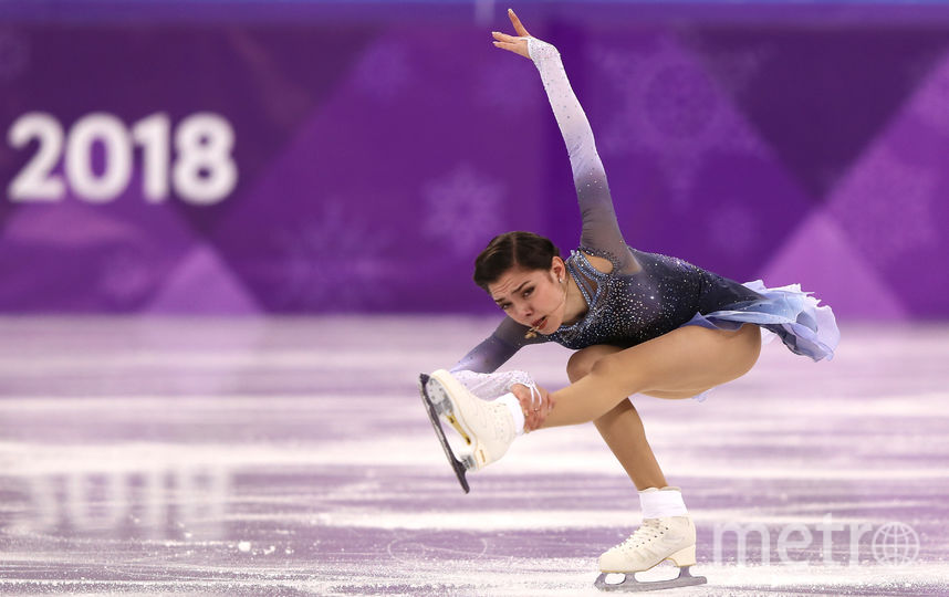 Загитова и Медведева на Олимпиаде поставили рекорды. На фото - Евгения Медведева. Фото Getty