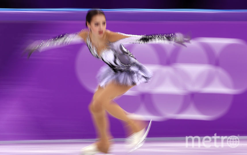 Загитова и Медведева на Олимпиаде поставили рекорды. На фото - Алина Загитова. Фото Getty
