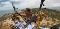 Российские туристы справили Масленицу в небе Вьетнама