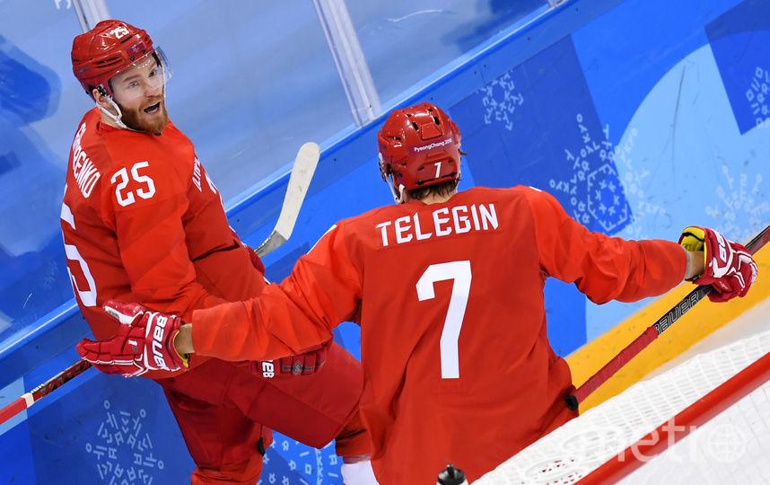 Сборная России по хоккею переиграла норвежцев. Фото AFP
