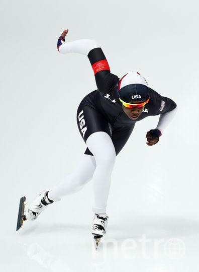 Американские конькобежцы на зимних Олимпийских играх. Фото Getty