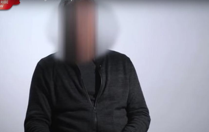 Мужчина на видео скрыл лицо и изменил голос. Фото Скриншот Youtube