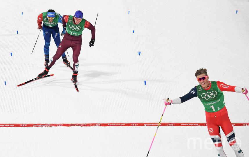 В финишном створе россиян опередили только норвежцы. Фото AFP