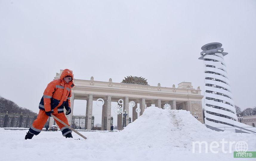 МЧС предупреждает москвичей о морозах до - 28 градусов. Фото Василий Кузьмичёнок