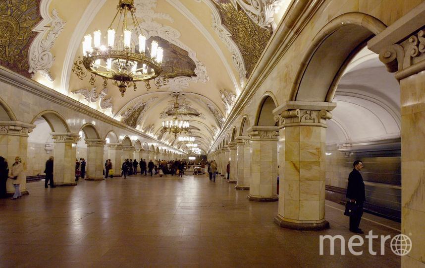 "Станция метро ""Комсомольская"". Фото Getty"