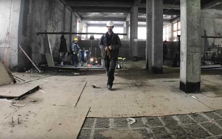 """""""Новокрестовская"""" в середине января. Фото youtube / Provodnik official, Скриншот Youtube"""