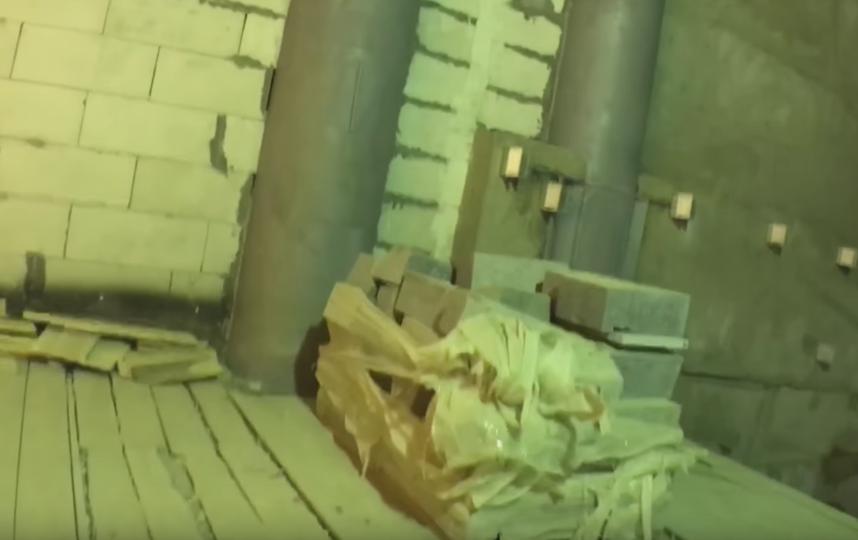 """""""Новокрестовская"""" в середине февраля. Фото youtube / Provodnik official, Скриншот Youtube"""