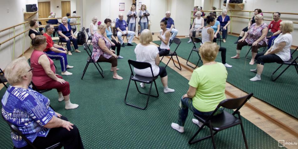 Пенсионеры Москвы смогут бесплатно посещать занятия по иностранным языкам, танцам и фитнесу. Фото mos.ru