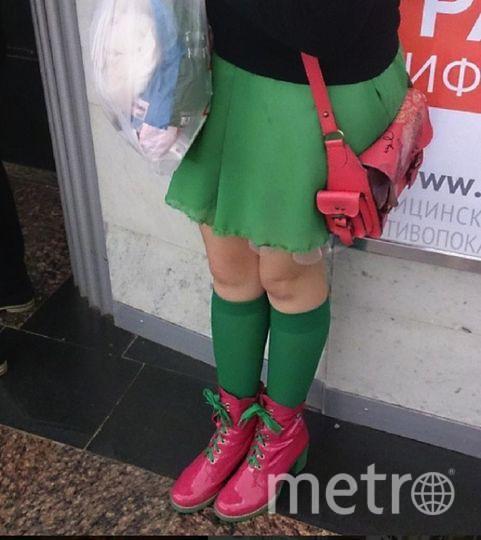 Необычных пассажиров можно встретить в метро Петербурга. Фото https://www.instagram.com/spb_subway/