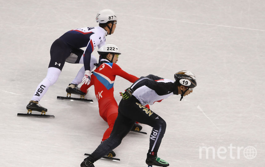 Йонг Кван-бом пытался свалить конкурента после падения. Фото Getty