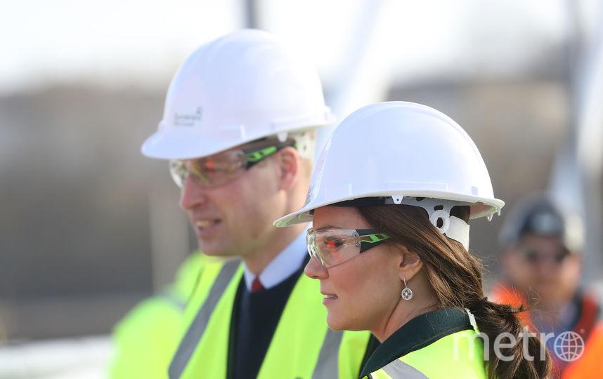 Кейт Миддлтон и принц Уильям в Сандерленде. Фото Getty