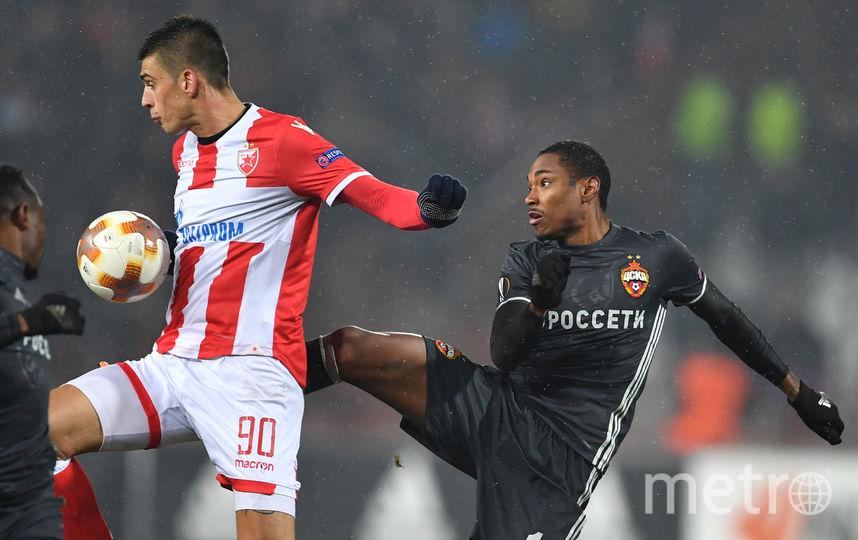 Первый матч в Белграде не выявил победителя. Фото AFP