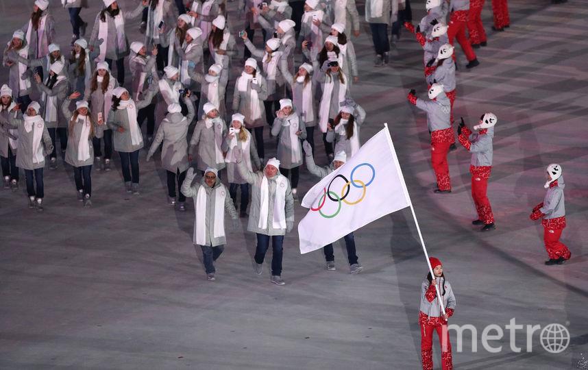 Сборная России на церемонии открытия Олимпиады. Фото Getty