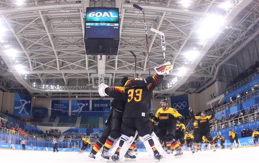 Сборная Германии по хоккею. Фото Getty