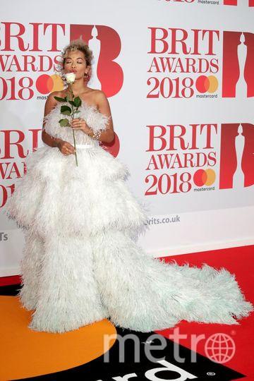 BRIT Awards 2018. Рита Ора. Фото Getty