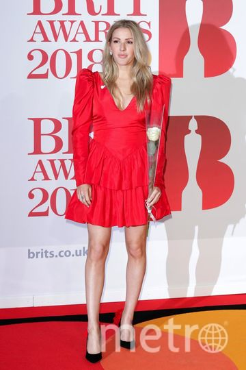 BRIT Awards 2018. Элли Голдинг. Фото Getty