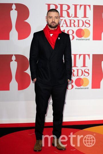 BRIT Awards 2018. Джастин Тимберлейк. Фото Getty