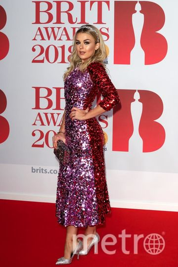 BRIT Awards 2018. Талия Сторм. Фото Getty