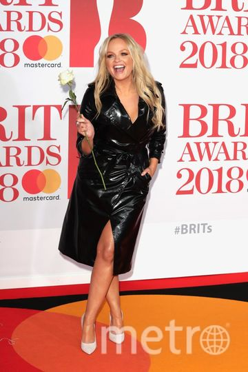 BRIT Awards 2018. Эмма Бантон. Фото Getty